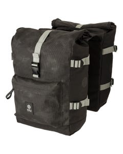 H2O Double Bike Bag Roll-Top II Urban Reflection