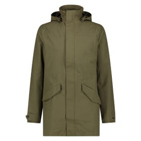 Parka Long Regenjas Urban Outdoor Heren