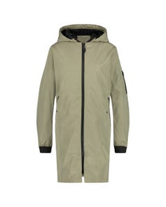 Long Bomber Regenjacke Urban Outdoor Damen