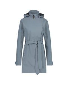 Trench Coat Rain Jacket Urban Outdoor Women