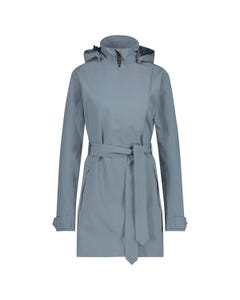 Trench Coat Rain Jacket Urban Outdoor Women