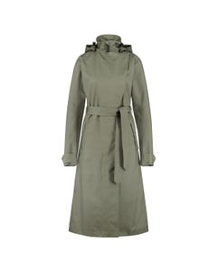 Trench Coat Long Regenjacke Urban Outdoor Damen
