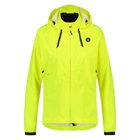 Compact Rain Jacket Commuter Women Hi-vis