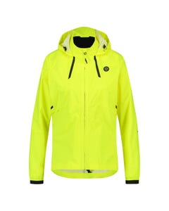 Compact Rain Jacket Commuter Women Hi-vis