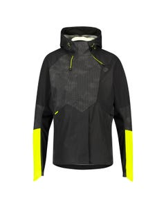 Tech Rain Jacket Commuter Women Hi-vis & Reflection