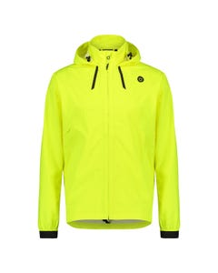 Compact Rain Jacket Commuter Men Hi-vis