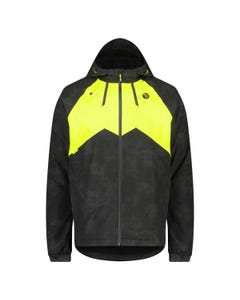 Winter Rain Jacket Commuter Men Hi-vis & Reflection