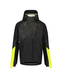 Tech Rain Jacket Commuter Men Hi-vis & Reflection