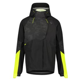 Tech Rain Jacket Commuter Men Hi-vis & Reflection