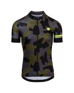 Camo Tile Fietsshirt Trend Heren