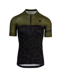 Camo Tile Outline Fietsshirt Trend Heren
