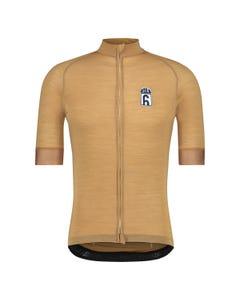 Solid Merino Fietsshirt Six6 Heren