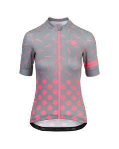 Sprinkle Dot Fietsshirt Essential Dames