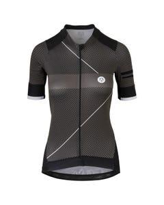 Stripe Fietsshirt Premium Dames