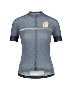 Merino Fietsshirt Six6 Dames