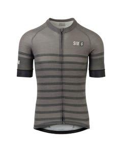 Merino Stripe Fietsshirt Six6 Heren