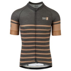 Merino Stripe Jersey SS Six6 Men