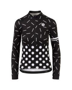 Sprinkle Dot Fietsshirt Lange Mouwen Essential Dames