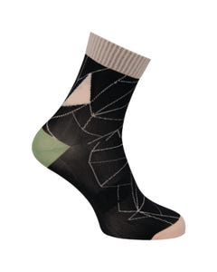 Geo Socks Trend Women
