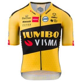 Premium Aero Fietsshirt Team Jumbo Visma Heren