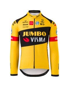 Replica Fietsshirt Lange Mouwen Team Jumbo Visma Heren