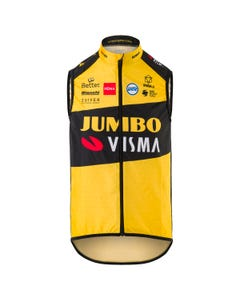 Replica Weste Team Jumbo Visma Herren Windproof