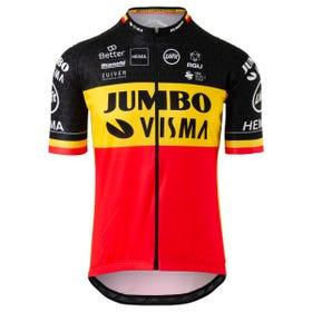 Replica Belgisch Kampioen Fietsshirt Team Jumbo Visma Heren