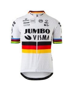 Replica German Champion Jersey SS Team Jumbo Visma Men