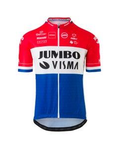 Replica Nederlands Kampioen Fietsshirt Team Jumbo Visma Heren