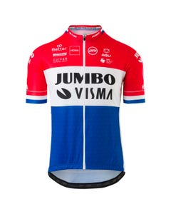 Replica Dutch Champion Jersey SS Team Jumbo Visma Men