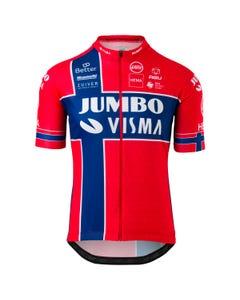 Replica Norwegian Champion Jersey SS Team Jumbo Visma Men