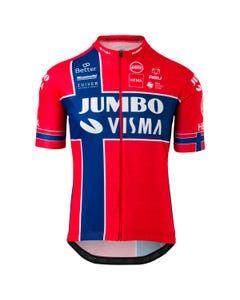 Replica Norwegian Champion Jersey SS Team Jumbo Visma Men