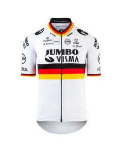 Replica German Champion Fietsshirt Team Jumbo-Visma Heren