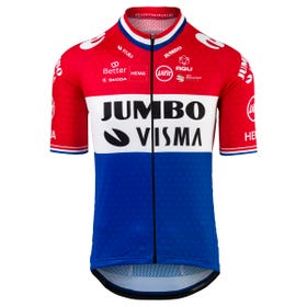 Replica Dutch Champion Jersey SS Team Jumbo-Visma Men