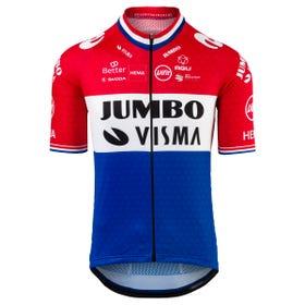 Replica Dutch Champion Fietsshirt Team Jumbo-Visma Heren