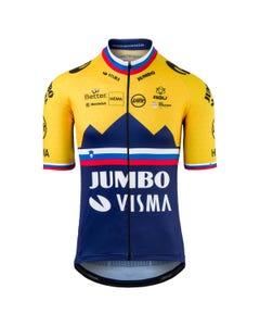 Replica Slovenian Champion Fietsshirt Team Jumbo-Visma Heren