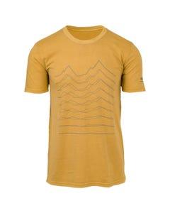 Flat To Mountain T-shirt Casual