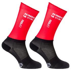 Vuelta Replica Socks Team Jumbo-Visma
